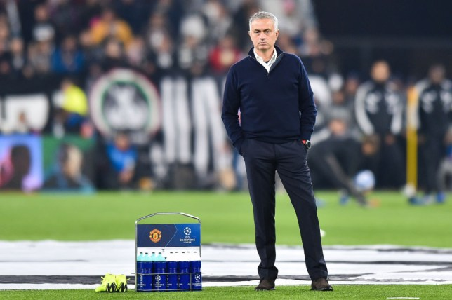 Jose Mourinho beat Juventus when in charge of Manchester United in November