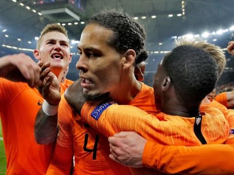 Virgil van Dijk reveals he spoke to Ajax's Dutch contingent after Tottenham defeat