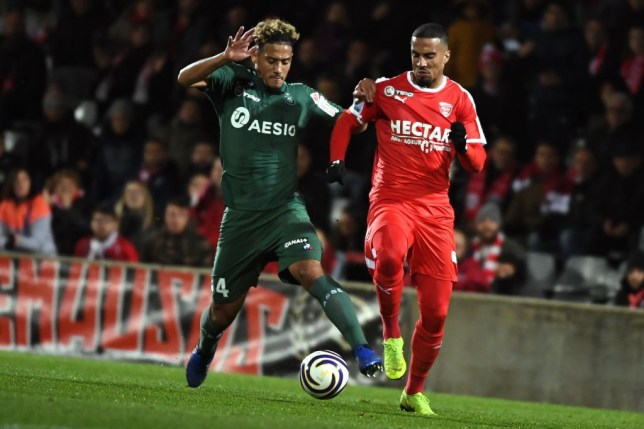 Arsenal and Manchester United are both interested in signing William Saliba