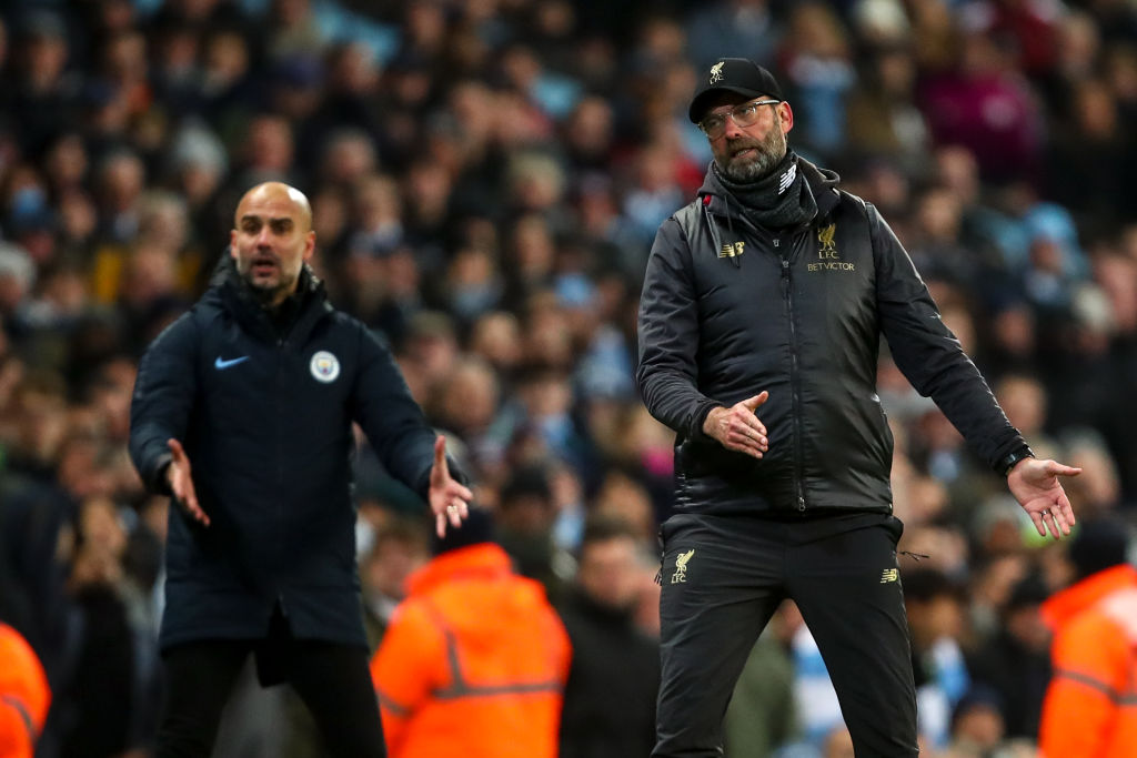 How a Premier League title play-off could happen between Man City and Liverpool