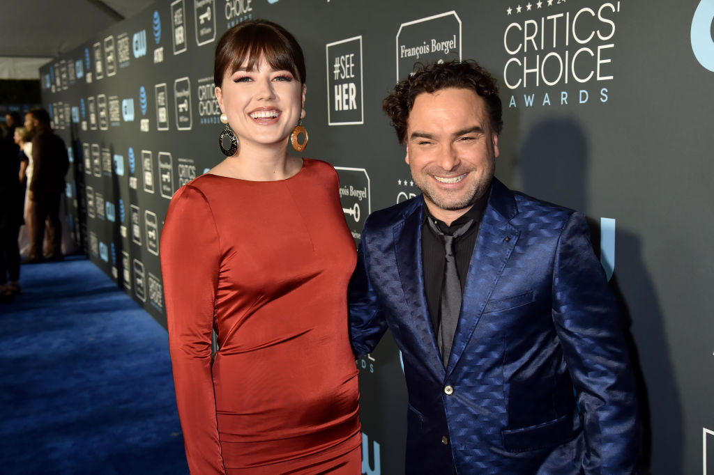 The Big Bang Theory's Johnny Galecki is set to welcome a son – after admitting he wanted a girl