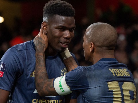Paul Pogba only offered vice captain role with Manchester United to give armband to Ashley Young