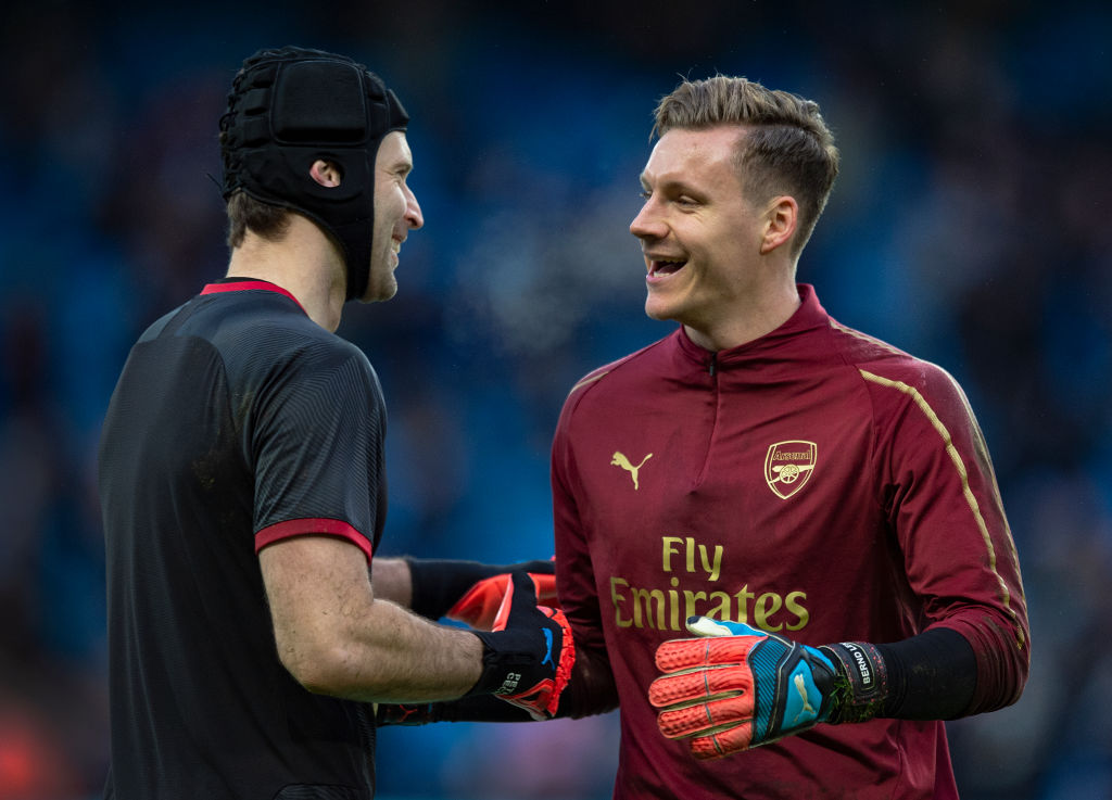 Arsenal fans demand Bernd Leno starts Europa League final after Petr Cech agrees Chelsea return
