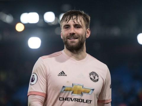 Manchester United star Luke Shaw training at Carrington to get head start on pre-season