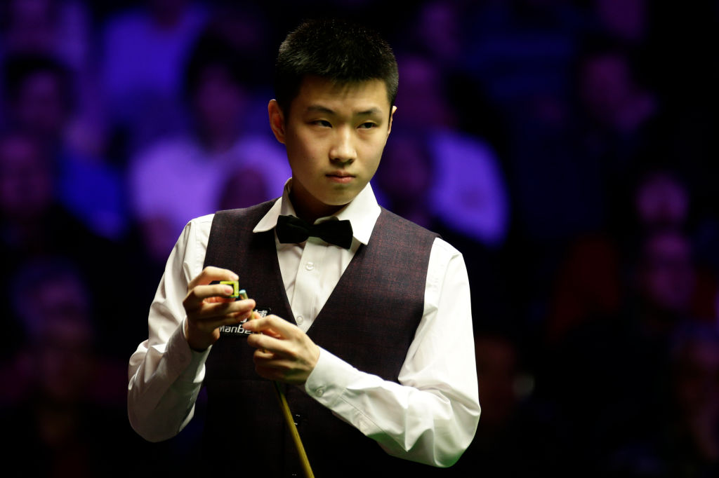 Ronnie O'Sullivan describes Zhou Xingtong as 'the Federer of the snooker world'