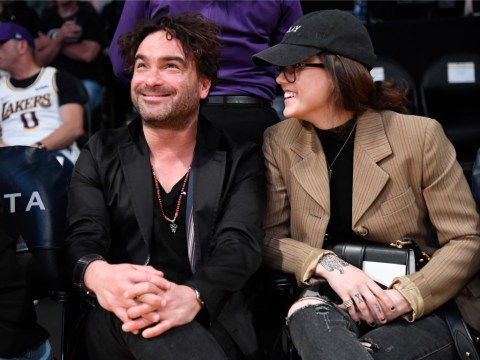 The Big Bang Theory's Johnny Galecki announces he's expecting first child with girlfriend Alaina Meyer