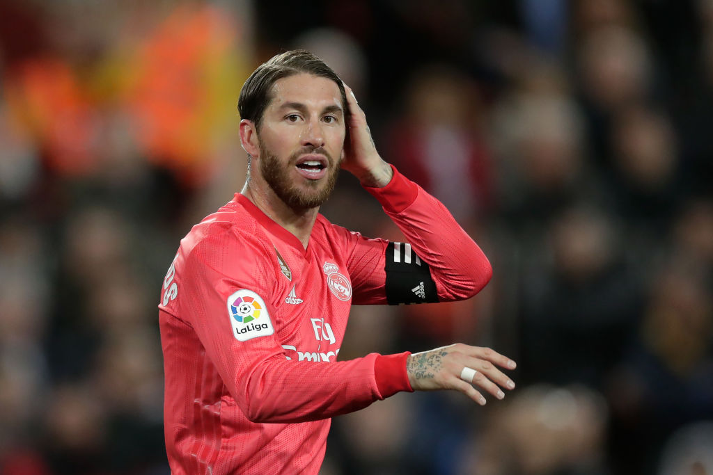 Liverpool not interest in signing Sergio Ramos in summer transfer