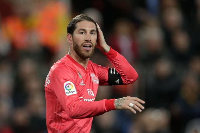 Sergio Ramos was linked with Liverpool