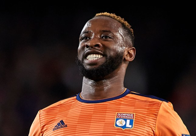 Manchester United have made their first move for Lyon striker Moussa Dembele