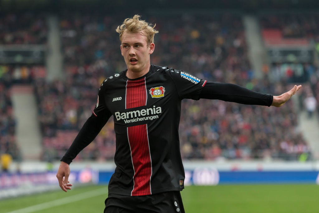 Tottenham and Liverpool target Julian Brandt's future to be decided this week