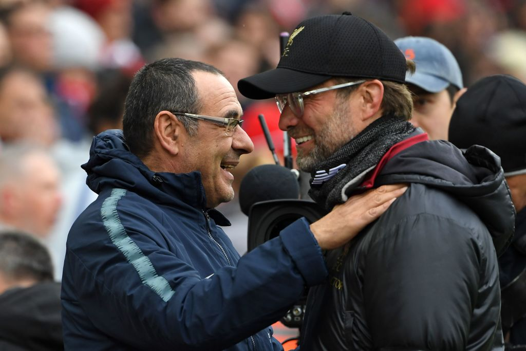 Maurizio Sarri admitted he felt sorry for Liverpool after they lost out on the Premier League title by a single point