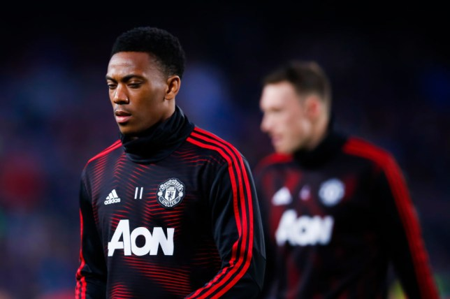 Anthony Martial has scored just one goal in his last 10 Manchester United appearances
