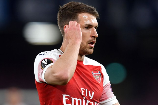 Unai Emery pays classy tribute to Aaron Ramsey after confirming Arsenal career is over