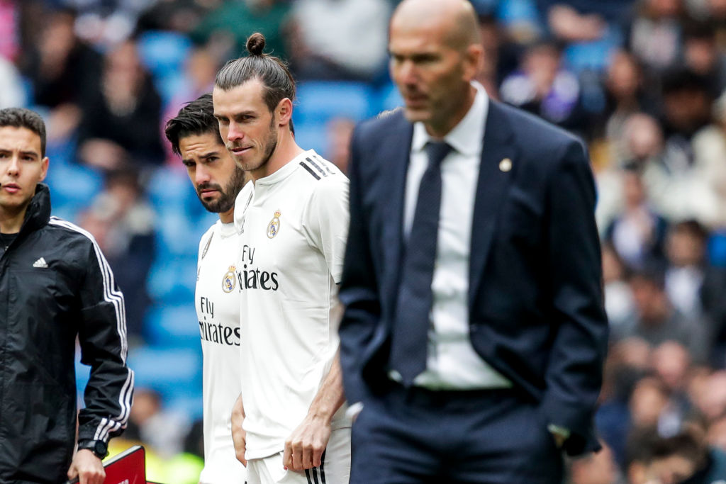 Zinedine Zidane to decide on Gareth Bale's future at Real Madrid after season ends