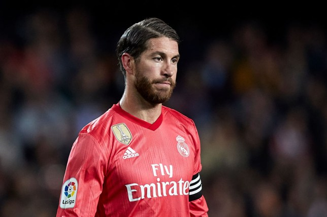 Sergio Ramos is on Manchester United's summer shortlist