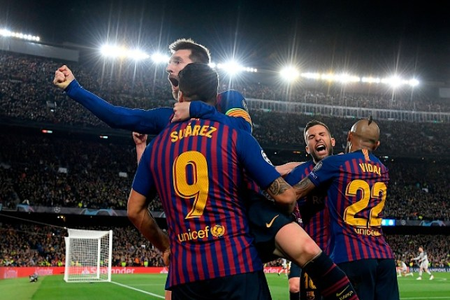 Lionel Messi helped Barcelona clinch a huge victory over Liverpool