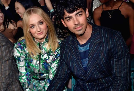 Sophie Turner and Joe Jonas at the Billboard Music Awards before they got married (Picture: Jeff Kravitz/FilmMagic for dcp)