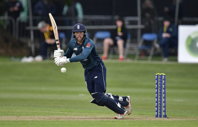 Ben Foakes led World Cup favourites England to victory over Ireland