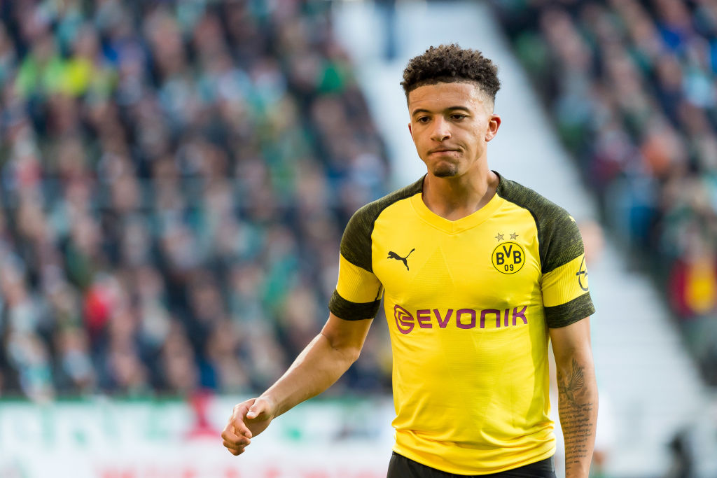 Jadon Sancho sends message to Manchester United over £100m transfer