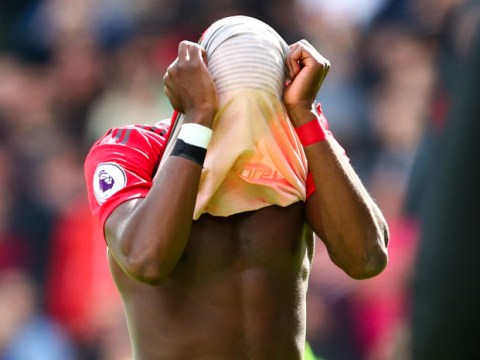 The moment Paul Pogba realised Manchester United's Champions League hopes were over