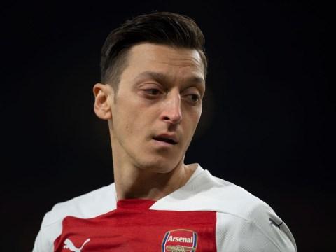 Mesut Ozil sends message to Unai Emery amid Arsenal transfer speculation