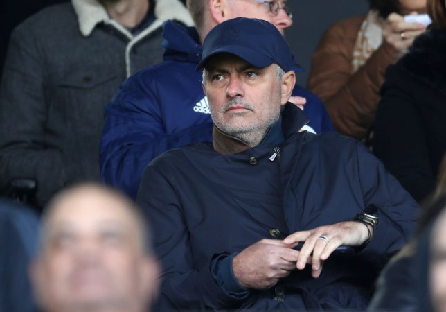 Jose Mourinho was sacked by Manchester United