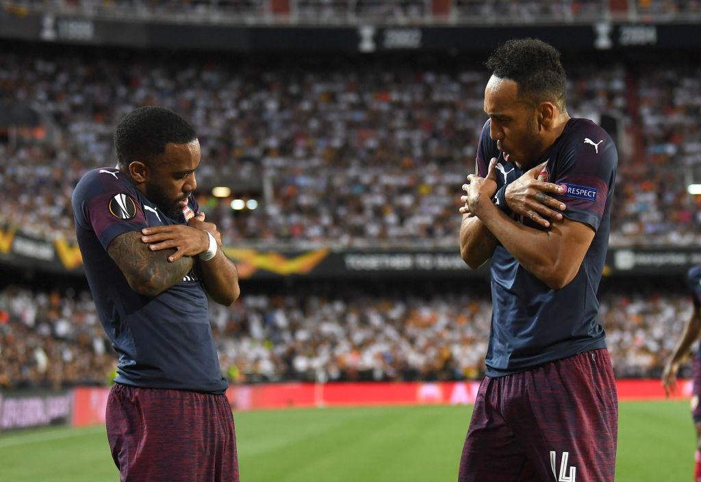 Unai Emery explains what made him proud of Arsenal Europa League heroes Pierre-Emerick Aubameyang and Alexandre Lacazette