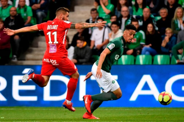 Saint-Etienne are prepared to sell William Saliba