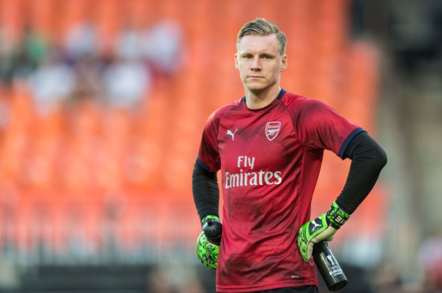 Arsenal goalkeeper Bernd Leno wants to start Europa League final against Chelsea