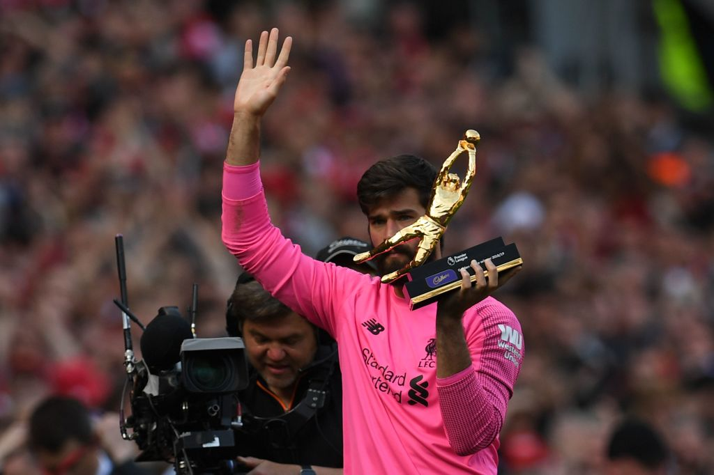 Alisson sets new clean sheet record for Liverpool in victory over Wolves