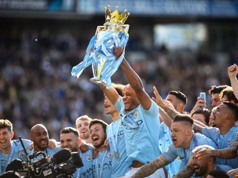 Man City captain Vincent Kompany sends classy message to Liverpool after winning Premier League title race