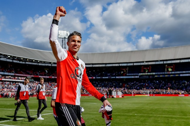 Robin van Persie played for Feyenoord, Arsenal, Manchester United and Fenerbahce