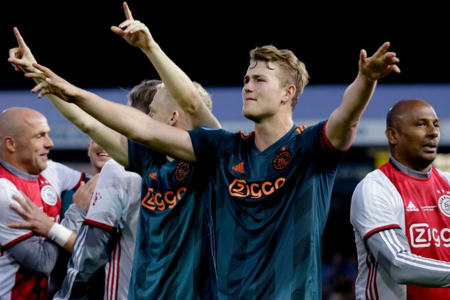 Ajax defender Matthijs de Ligt is rated as one of the best young players in the world