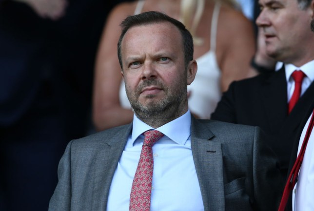 Ed Woodward has given Ole Gunnar Solskjaer his backing