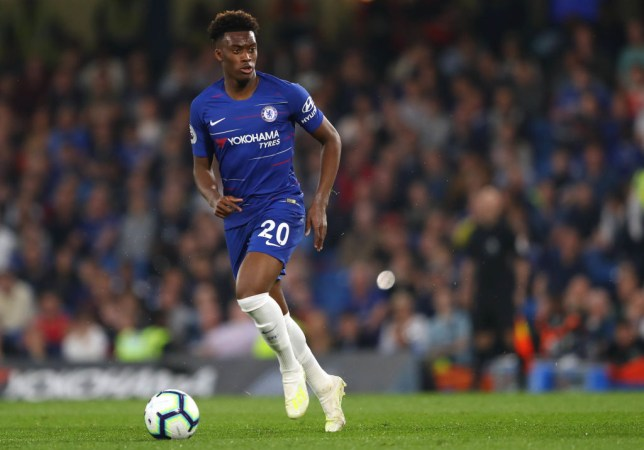 d2be5323d29 Chelsea aim to persuade Callum Hudson-Odoi to stay by giving him Eden  Hazard's No.10 shirt