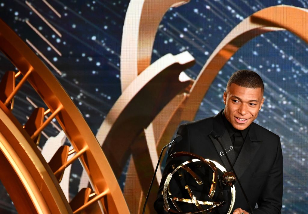 Kylian Mbappe drops transfer bombshell after winning Ligue 1 Player of the Year