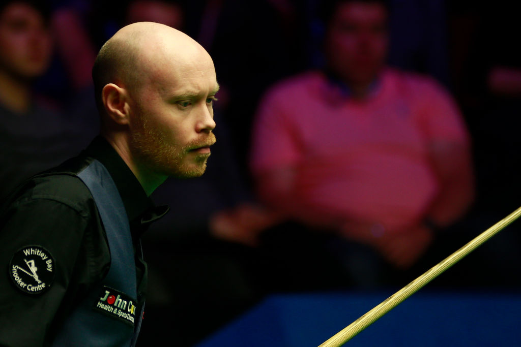 Gary Wilson looking to make amends for 'embarrassing' China Open final appearance