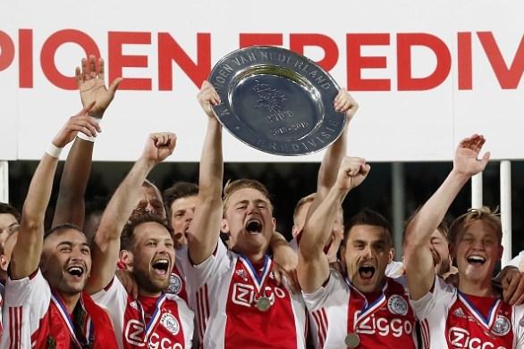 The teenage defender enjoyed a sensational season for Ajax