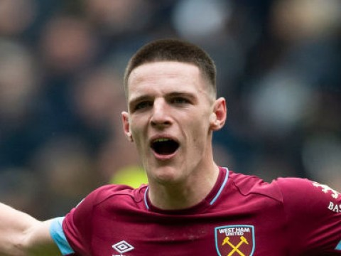 Declan Rice hints at West Ham stay amid Manchester United interest
