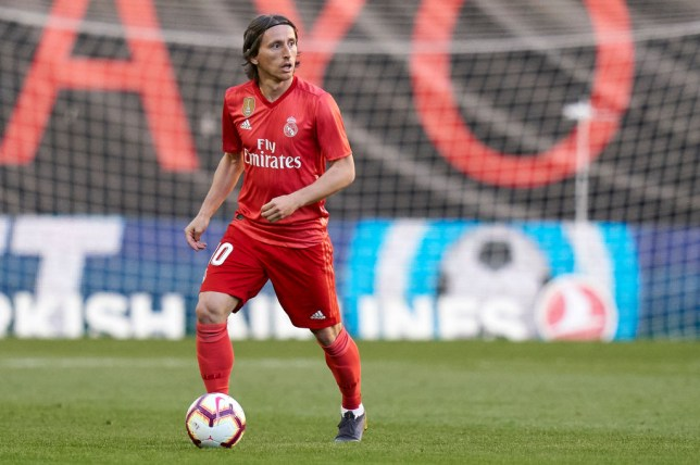 Luka Modric could leave Real Madrid this summer