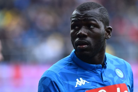 United are being heavily linked with Napoli centre-back Kalidou Koulibaly