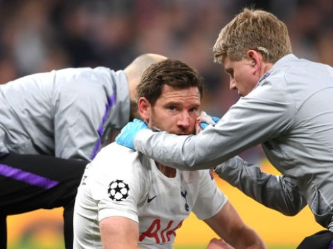 Tottenham announce Jan Vertonghen injury update ahead of Bournemouth clash