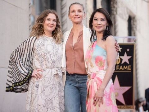 Drew Barrymore, Cameron Diaz and Lucy Liu bring Charlie's Angels back together and yas, the gang's all here