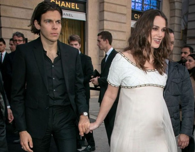 Keira Knightley expecting baby number two with husband James