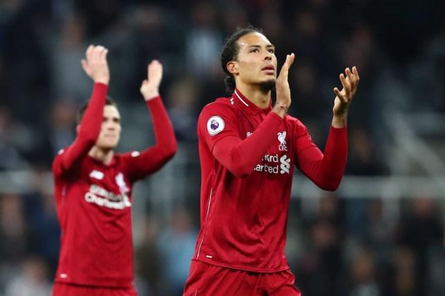 Liverpool defender Virgil Van Dijk expects Man City to win the Premier League title
