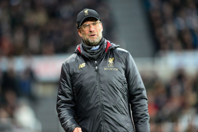 NEWCASTLE UPON TYNE, ENGLAND - MAY 04: Liverpool Manager Jurgen Klopp during the Premier League match between Newcastle United and Liverpool FC at St. James Park on May 04, 2019 in Newcastle upon Tyne, United Kingdom. (Photo by Serena Taylor/Newcastle United)