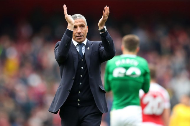 Chris Hughton has been sacked by Brighton