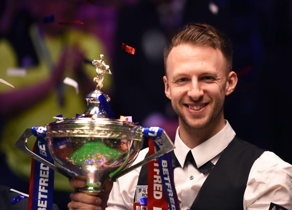Judd Trump vows to improve on immense Snooker World Championship final performance