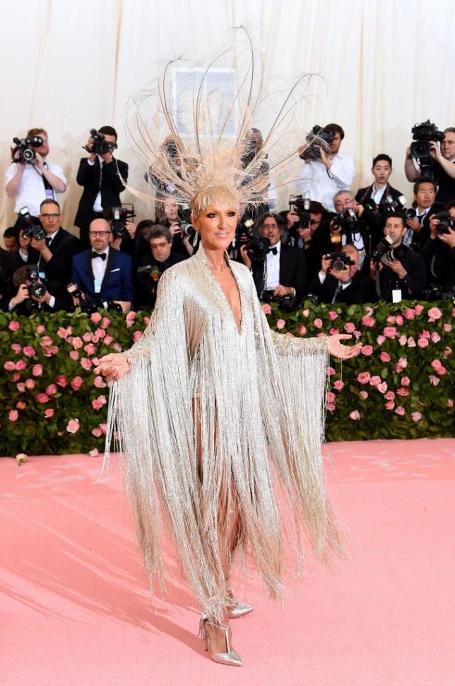 Celine Dion at Met Gala