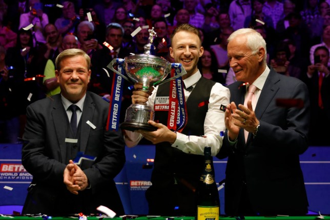 Judd Trump wins Snooker World Championship